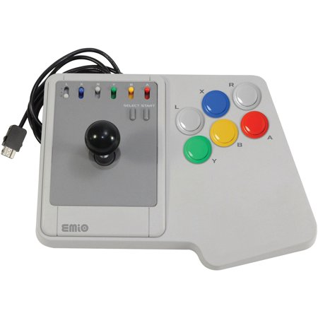 EMIO 00114-6 The Edge Super Joystick for SNES Classic & PC (Classic Joystick For Pc)