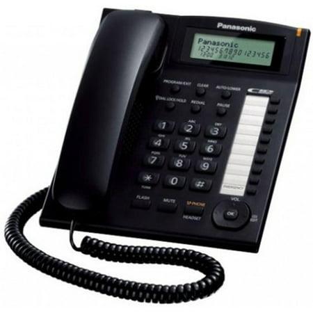Panasonic KX-TS880B Corded Phone with Caller ID and Speakerphone - Panasonic Corded Speakerphone