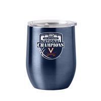Virginia Cavaliers 2019 Basketball National Champions Wine Glass Ultra Tumbler