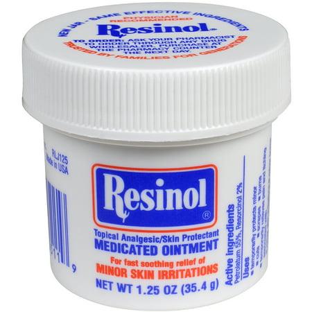 Resinol Medicated Ointment 1.25 oz.