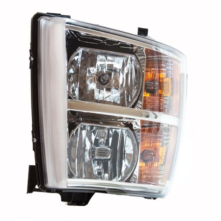 TYC 20-6817-00-9 Headlight Assy for SILVERADO 1500 2500 2500 HD 3500 3500 HD ()