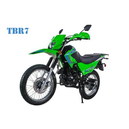Green Taotao Tbr7 On Road Highway 229cc Motorcycle Electric Start Kick