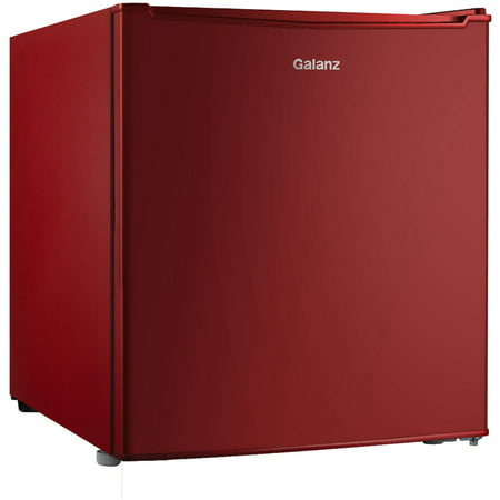 Galanz 1.7 Cu Ft Single Door Mini Fridge GL17RD, Red