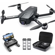 Holy Stone HS720E 4K EIS Drone with UHD Camera for Adults GPS Quadcopter for Beginner with 46 mins Flight Time Brushless Motor 5GHz FPV Transmission Auto Return Home