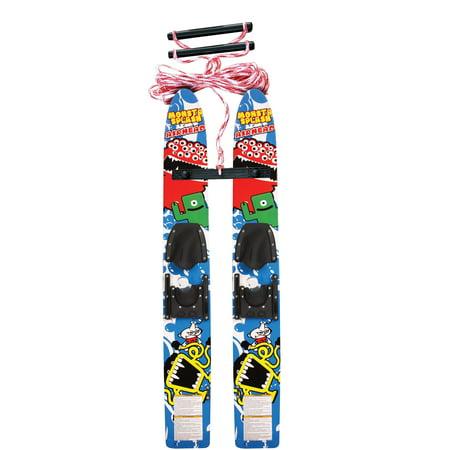 Airhead Monsta Splash Trainer Water Skis (Best Intermediate Water Ski)