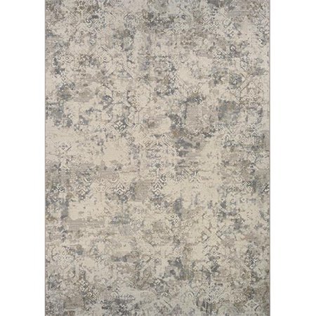 Couristan 64376575053076T 5 ft. 3 in. x 7 ft. 6 in. Easton Antique Lace Rug, Flax - image 1 of 1