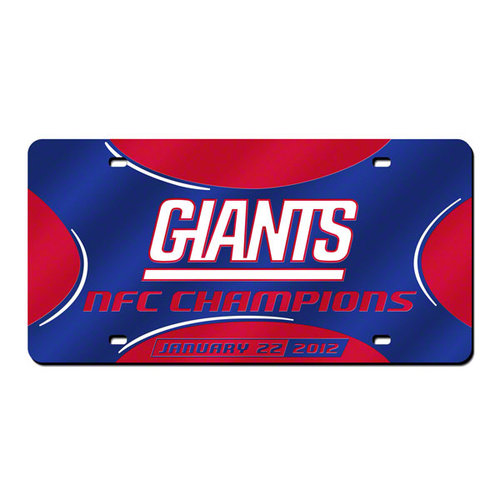 NFL - New York Giants 2011 NFC Conference Championship Laser Tag