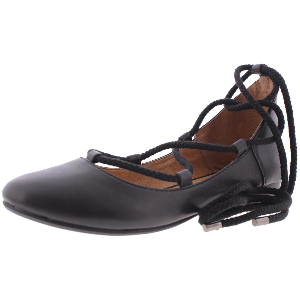 Kelsi Dagger Brooklyn Womens Ballet Deandra Leather Round Toe Ballet Womens Flats e50c28