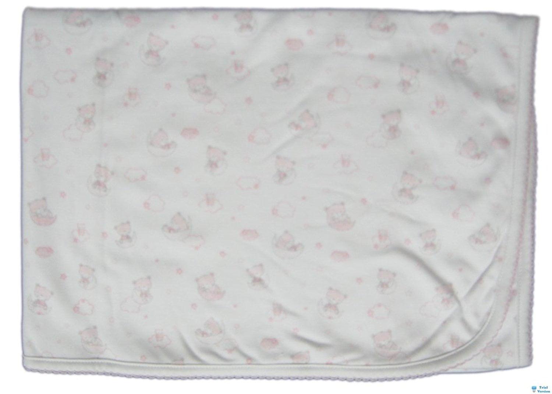 Kissy Kissy Baby-Girls Infant Sweet Dream Bears Print Receiving Blanket by Kissy Kissy