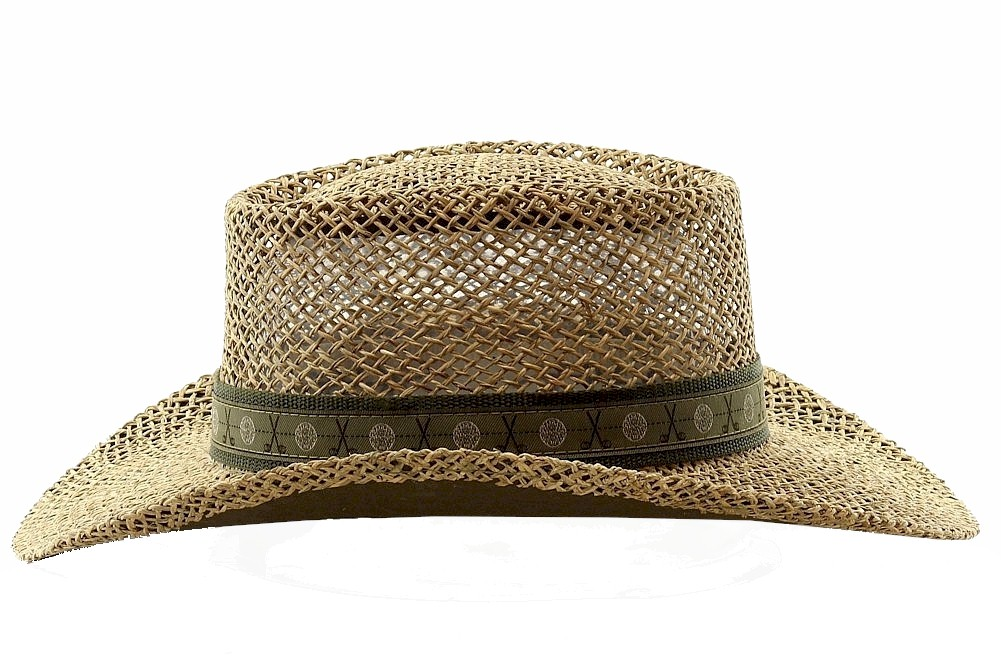 23c3835cad1c0 Scala Pro - Scala Pro Men s Twisted Seagrass Natural Straw Gambler Hat -  Walmart.com