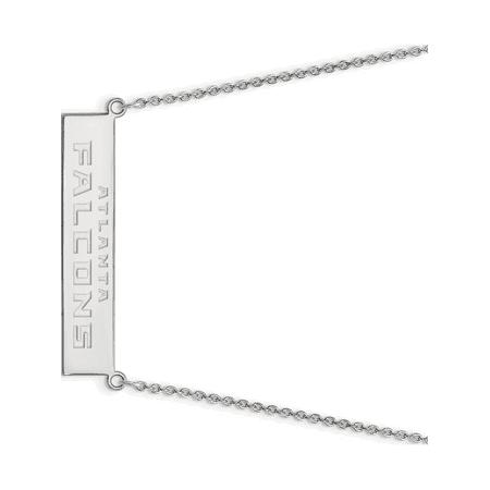 Sterling Silver Atlanta Falcons Small Bar Necklace - image 1 of 1