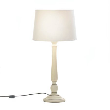 night table lamp ivory white contemporary table lamp light for living room. Black Bedroom Furniture Sets. Home Design Ideas