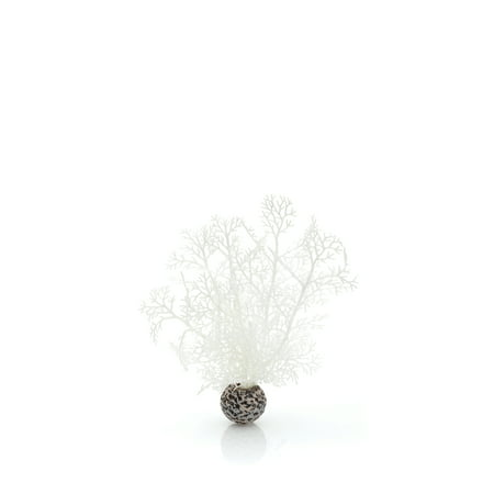 biOrb Decorative Aquarium Sea Fan, White, Small