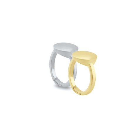Fronay 363102 7 - 8 in. Sterling Silver Sun & Moon Stackable Ring Set - image 1 de 1