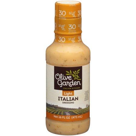 Olive Garden Light Italian Dressing 16 Fl Oz Plastic Bottle