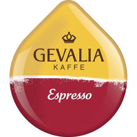 Gevalia Espresso Coffee T-Disc For Tassimo Brewing System, 16 Count ()