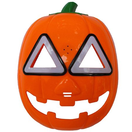 Halloween Pumpkin Mask LED Light Cosplay Mask - Bruce Lee Halloween Mask