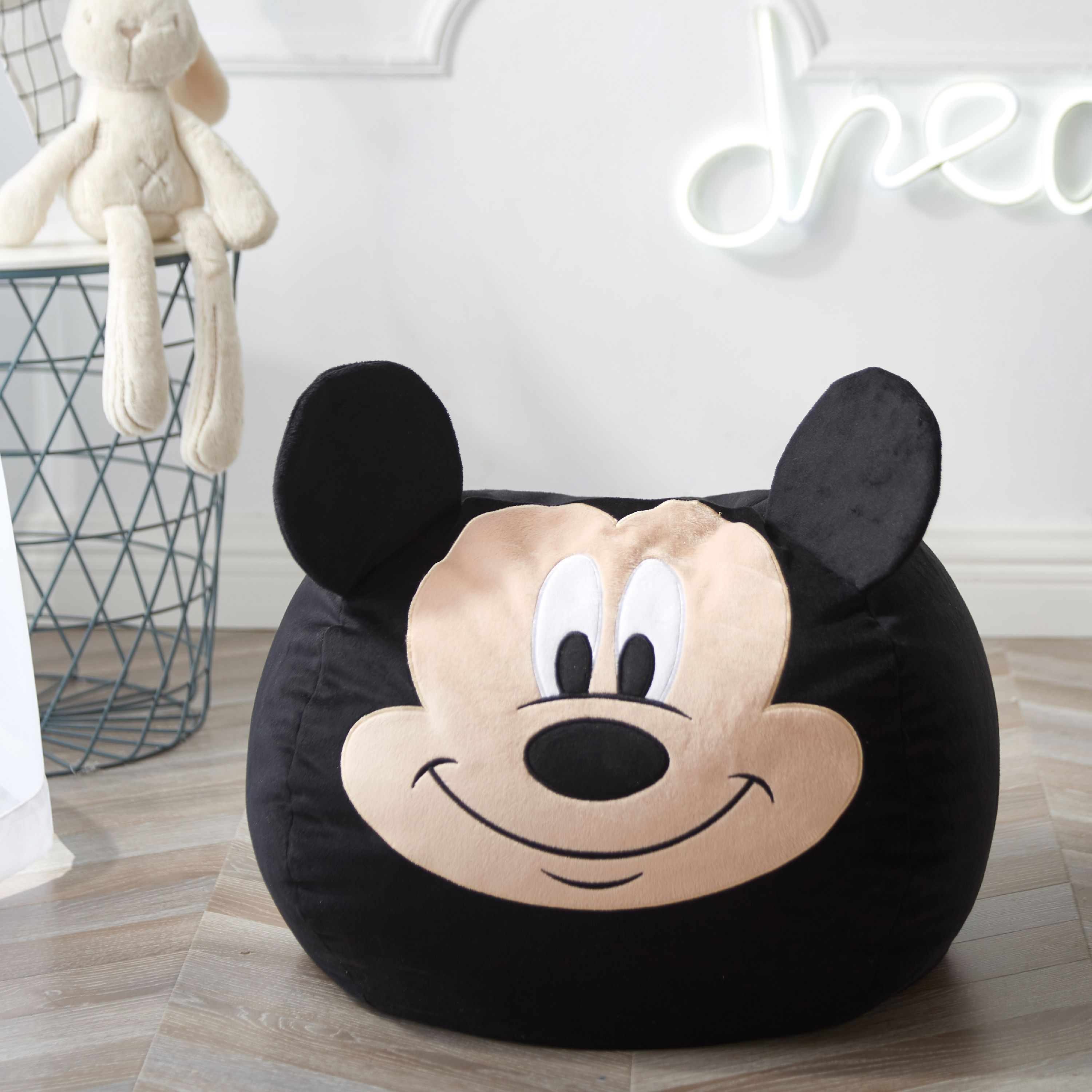 Disney Mickey Mouse Figural Bean Bag Chair