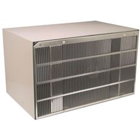 Ge Wall Case - Ge Aluminum Rear Grille For J Series Wall Case