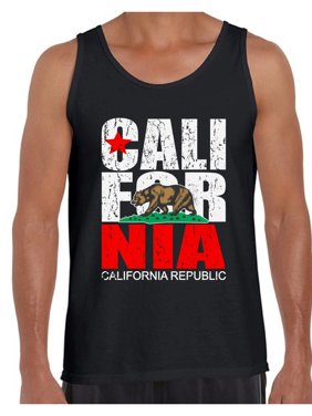 60d3bae0b412 Product Image Awkward Styles California Republic Tank Top for Men  California Republic Bear Tank Cali Gifts Men's California