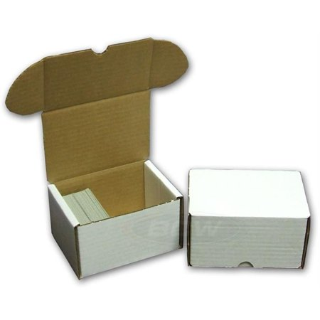 BCW 330 COUNT Corrugated Cardboard Storage Box for Sport/Trading/Gaming Cards ct](Cardboard Card Box)
