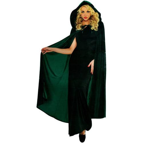 renaissance cape adult costume accessory green walmartcom
