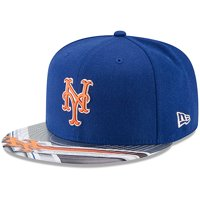 61e2378242677 Product Image New York Mets New Era 9FIFTY Topps Collaboration Snapback  Adjustable Hat - Royal Gray -
