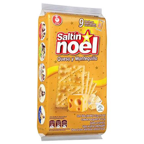 Noel Saltin Noel Butter Crackers, 9 count, 7.13 oz