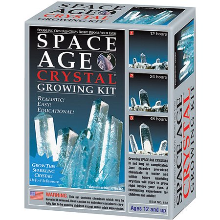 Space Age Crystals  Mini Series   Aquamarine