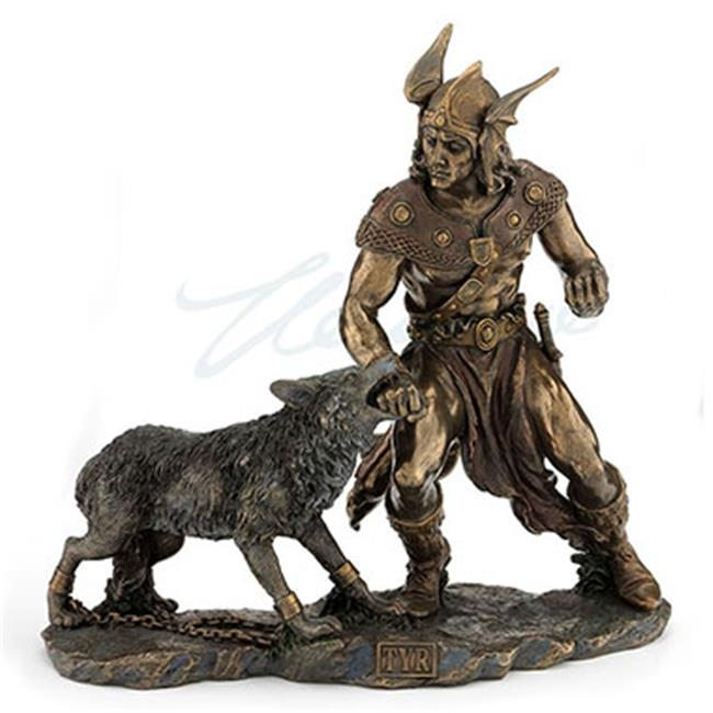 Unicorn Studios WU74622A4 Norse God Tyr Battling Fenrir - image 3 of 3