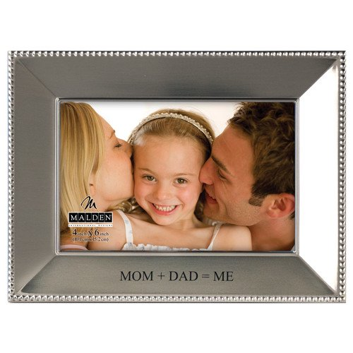 Malden 4 X 6 Mom And Dad Me Beaded Picture Frame Walmartcom