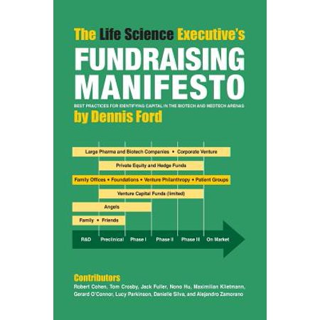 The Life Science Executive's Fundraising Manifesto : Best Practices for Identifying Capital in the Biotech and Medtech