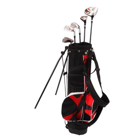 Nitro Blaster Junior Kids 8 piece complete golf set age 9-12 Right (Adams Tight Lies Plus 1312 Golf Set)