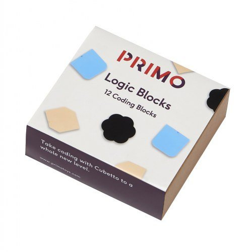 Primo(TM) Logic Blocks, These Logic Blocks take coding with Cubetto to a whole new level By Primo Toys