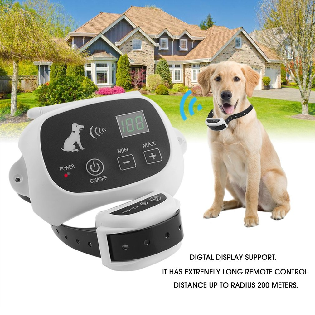waterproof wireless pet fence containment 1 2 3 dog systems invisible