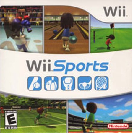 Wii Sports with Bowling, Golf, Tennis, Boxing, Baseball - Nintendo Wii (Refurbished) ()