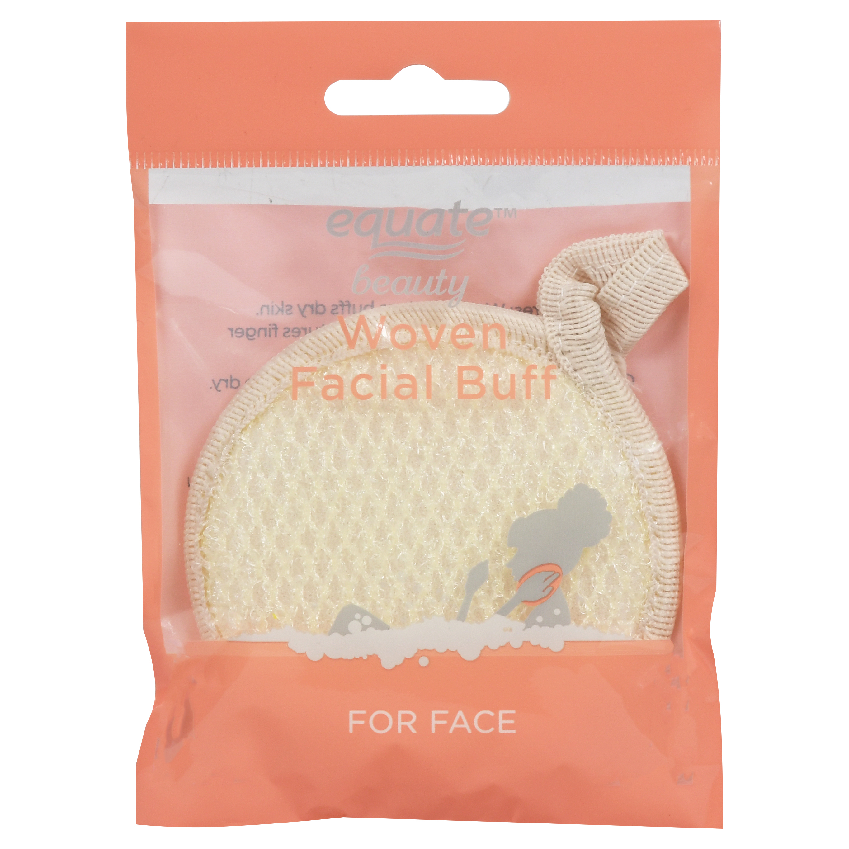 Equate Beauty Woven Facial Buff