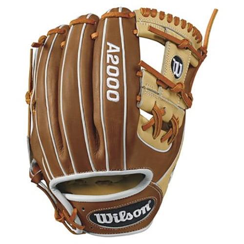 "Wilson 11.5"" A2000 Series Infield Baseball Glove, Right Hand Throw"