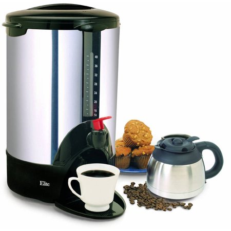 Maxi matic elite cuisine 30 cup coffee urn stainless for Alpine cuisine coffee cups