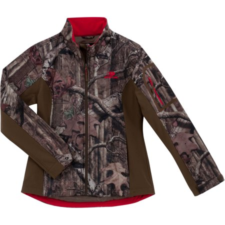 c6c7eb56cd356 Mossy Oak Break-Up Infinity Women's Softshell Jacket - Walmart.com