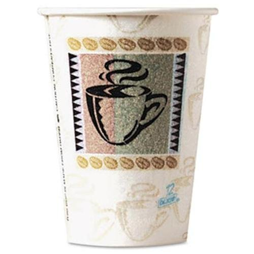 Dixie Perfectouch Insulated Hot Cups - 8 Oz - 50/pack - Paper (5338cdpk)