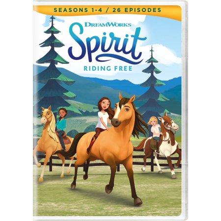Spirit: Riding Free - Seasons 1-4 DVD for $<!---->