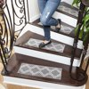 Ottomanson Ottohome Collection Stair Tread, 8.5  X 26  Pack of 7