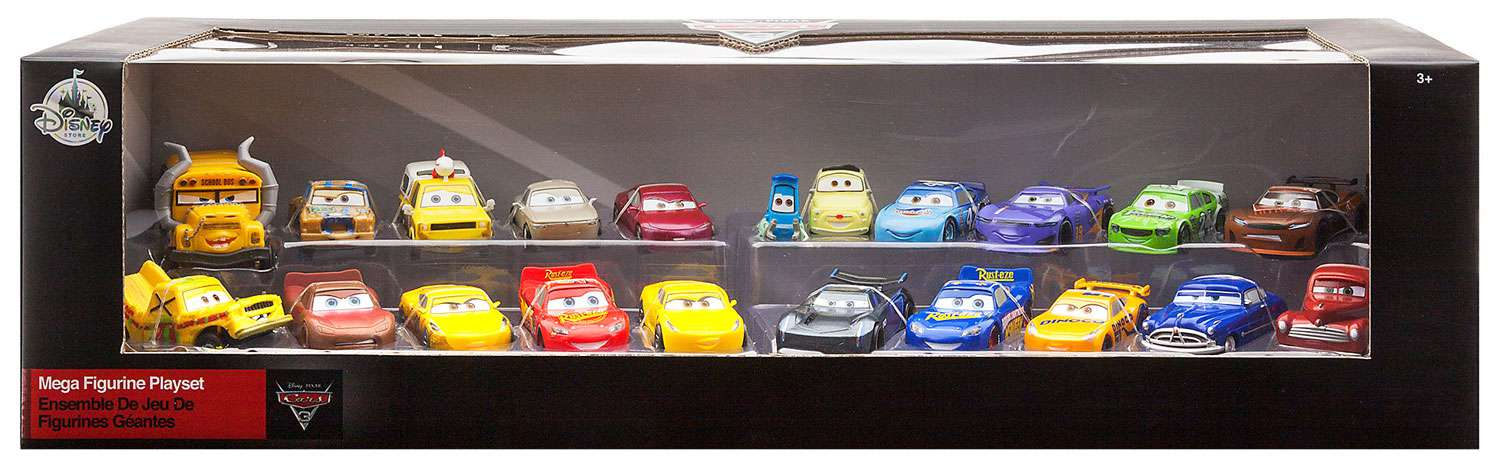Disney Cars Cars 3 Mega Figurine Playset by