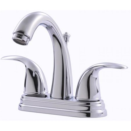 Two-Handle Chrome Lavatory Faucet With Pop-Up Drain - image 1 of 1