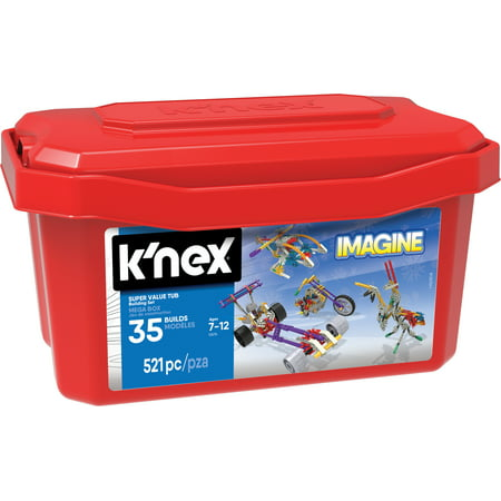 K'NEX Imagine 521 Super Value Tub