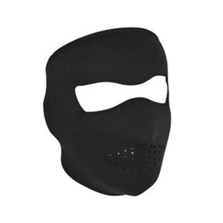 Zan Headgear Full Face Mask (Black, OSFM)