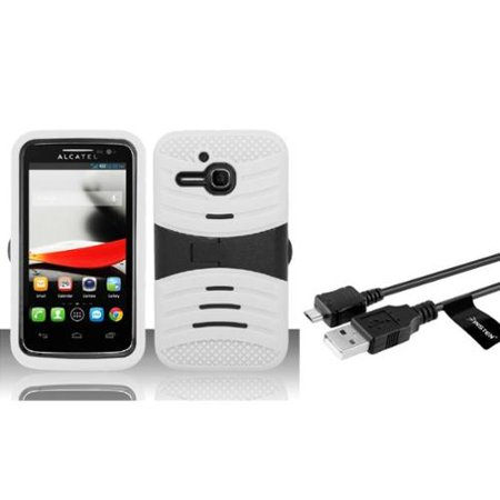 Insten White For Alcatel One Touch Evolve 5020t M Pop Ot