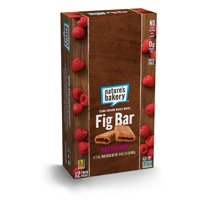 Nature's Bakery Whole Wheat Fig Bar, Raspberry, 2oz (Pack of 12)