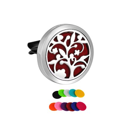 Tree of Life Aromatherapy Car Essential Oil Diffuser Car Vent Clip